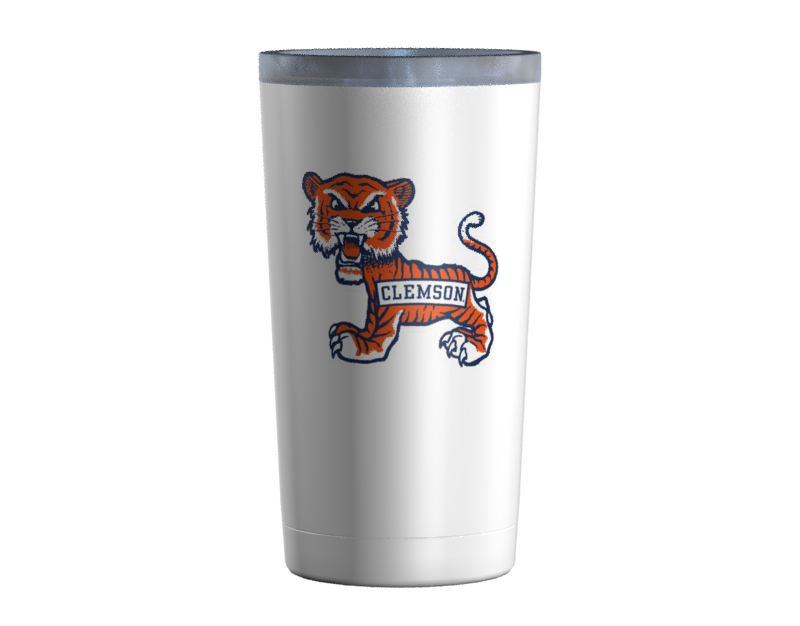 Clemson Old School Cub White