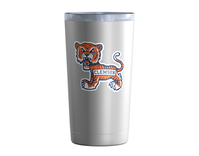 Clemson Old School Cub Stainless