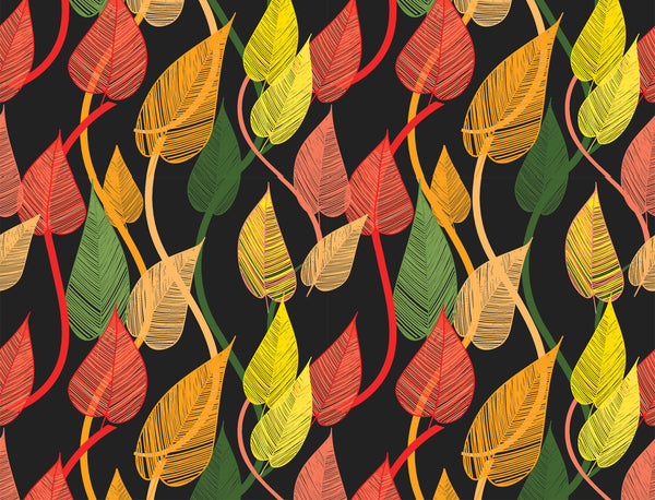 Leaves Pop Art