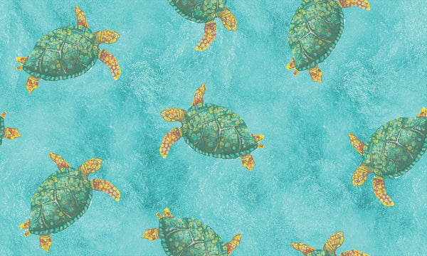Sea Turtles in Ocean
