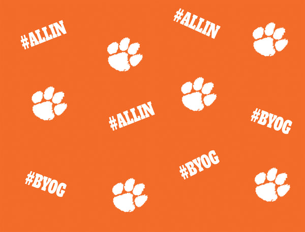 Clemson Hashtag Orange