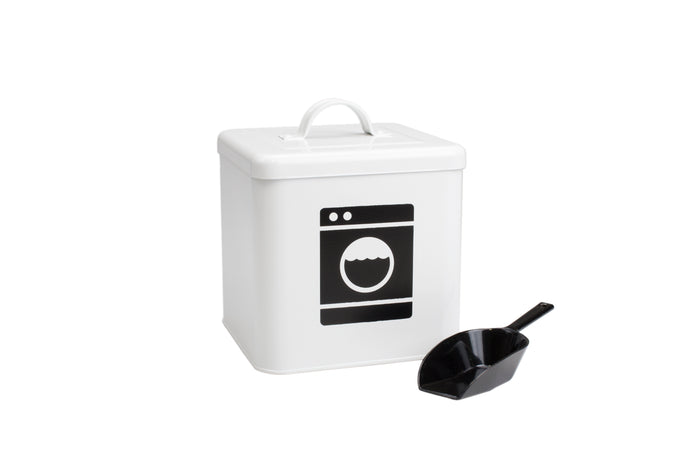 RetroKitchen laundry powder storage container