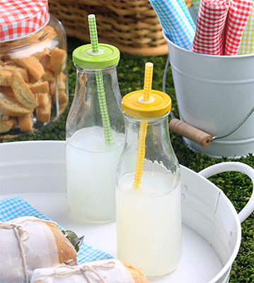 Milk Bottle Set of 4