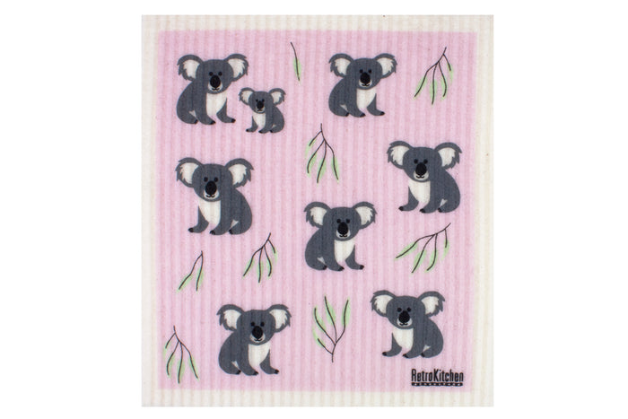 RetroKitchen Kitchen sponge cloths - Koalas