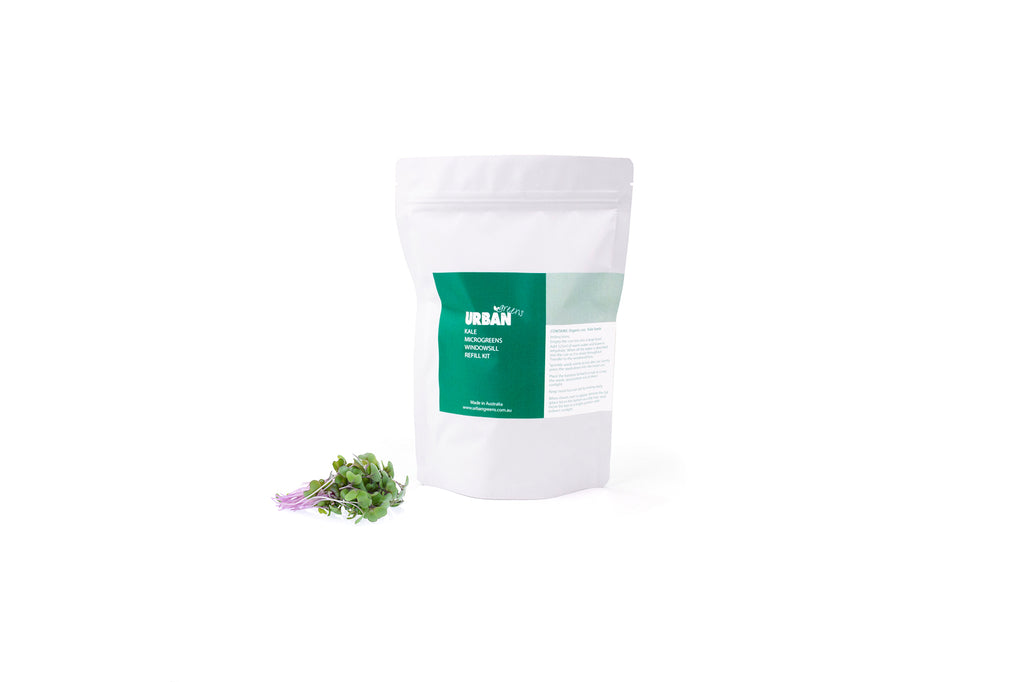 WINDOWSILL PLANTER SEED & SOIL REFILL PACK