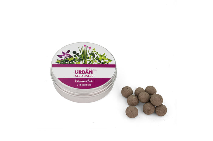Urban Greens Seed Balls  - Kitchen Herbs
