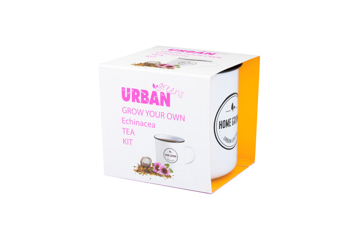 Urban Greens Grow Your Own Tea Kit - Echinacea
