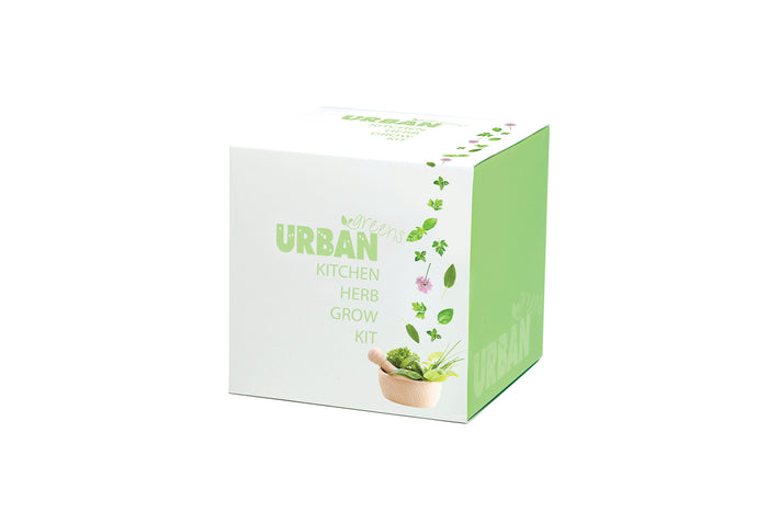 Urban Greens Kitchen Herbs Grow Your Own Garden Kit