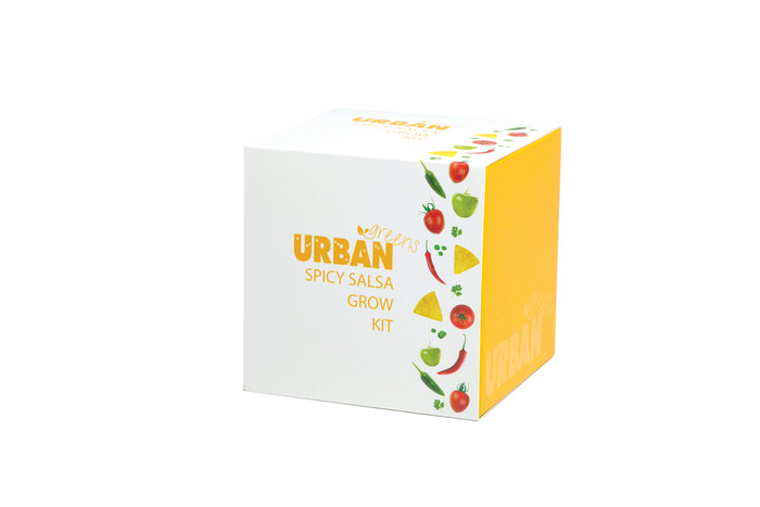 Urban Greens Grow Your Own Spicy Salsa Garden Kit