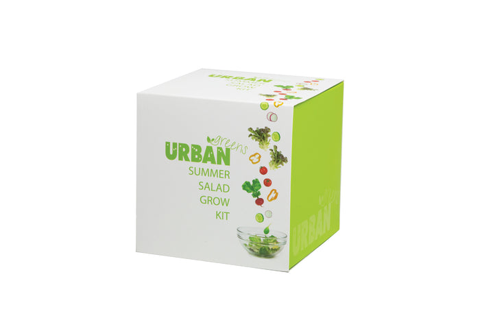 Urban Greens Grow Your Own Summer Salad Garden Kit