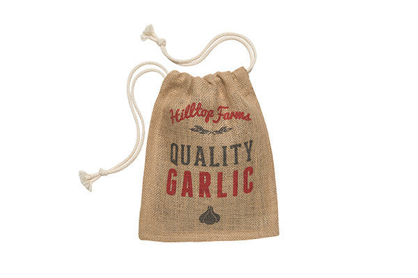 RetroKitchen hessian garlic storage sack