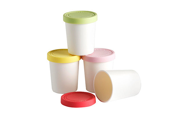 RetroKitchen mini ice-cream storage tubs