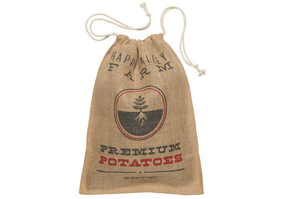 RetroKitchen potatoes storage hessian sack
