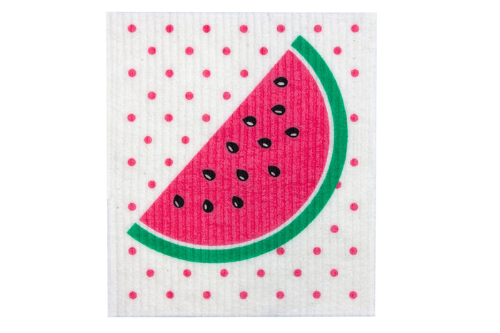 Retrokitchen biodegradable dish cloth - watermelon