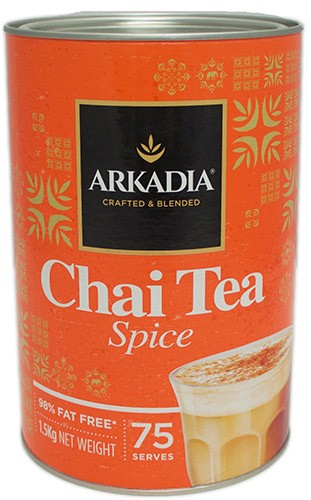 Arkadia Chai Tea Spice x 6 Cans - HunterMe