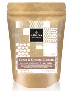 Arkadia Cocoa and Coconut Blossom 56% Cocoa Solids x 6 Bags - HunterMe