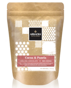 Arkadia Cocoa and Panela 56% Cocoa solids  x 6 Bags - HunterMe