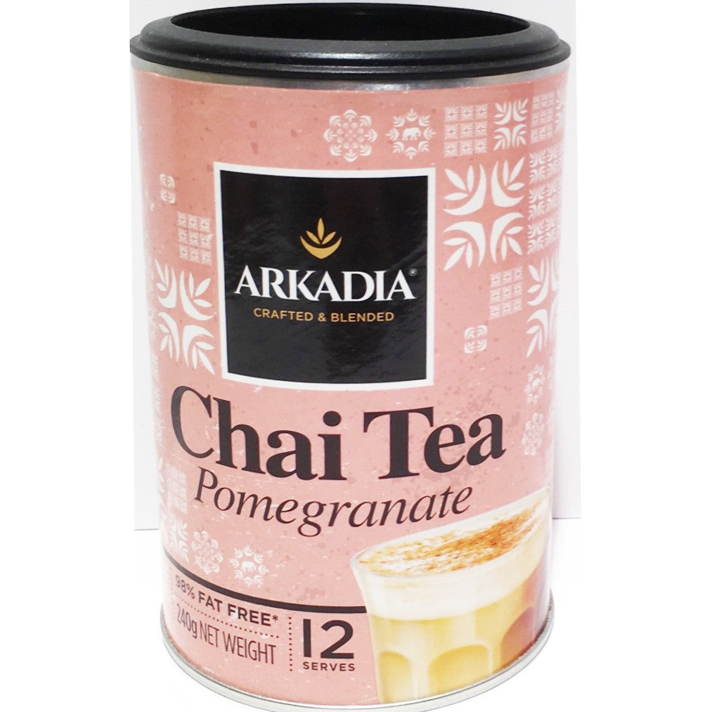 Arkadia Pomegranate Chai x 240g Can - HunterMe