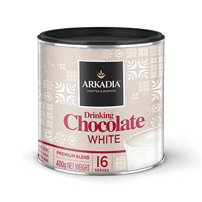 Arkadia White Drinking Chocolate x 6 Cans - HunterMe
