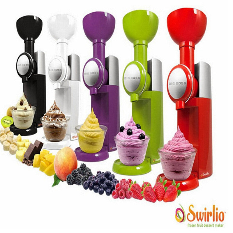 Big Boss Swirlio Frozen Fruit Machine Icecream home Full Automatic Mini Slush - HunterMe