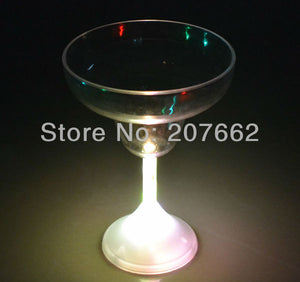48pcs/lot 235ML/8OZ LED Light Up Wine Glasses - HunterMe