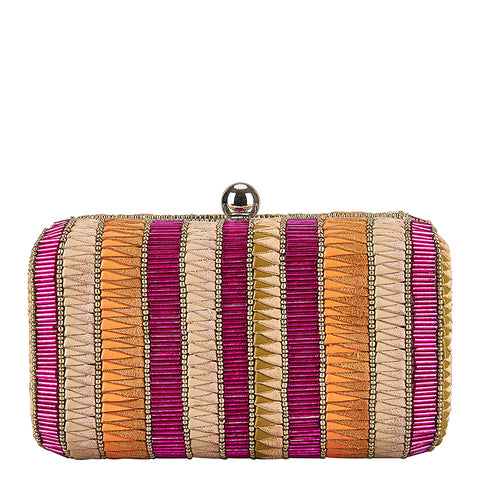 Andromeda Box Clutch Pink