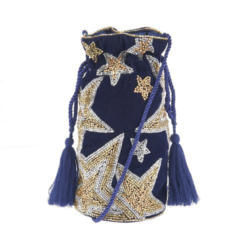 Astern Drawstring Navy-From St Xavier