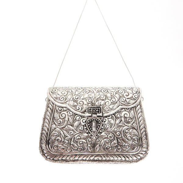 Atria Bag Silver-From St Xavier