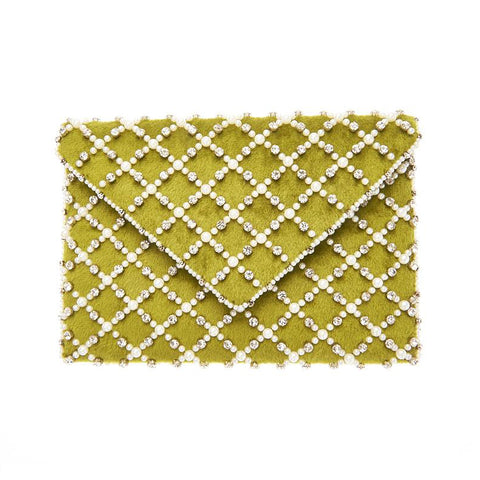 Baxter Clutch Green-From St Xavier