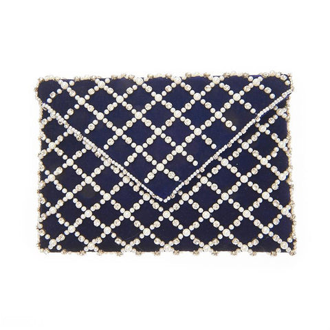 Baxter Clutch Navy-From St Xavier