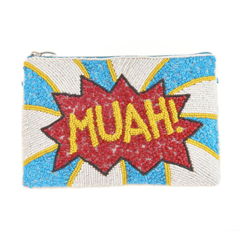 Blanche Muah Clutch-From St Xavier
