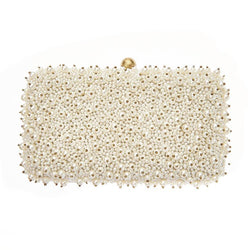Cassie Box Clutch Ivory-From St Xavier