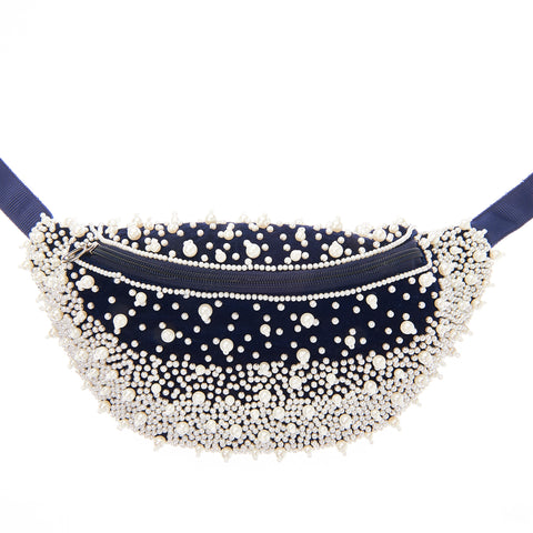 Chelsea Waist Bag Navy-From St Xavier