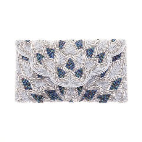 Christy Clutch Ivory-From St Xavier