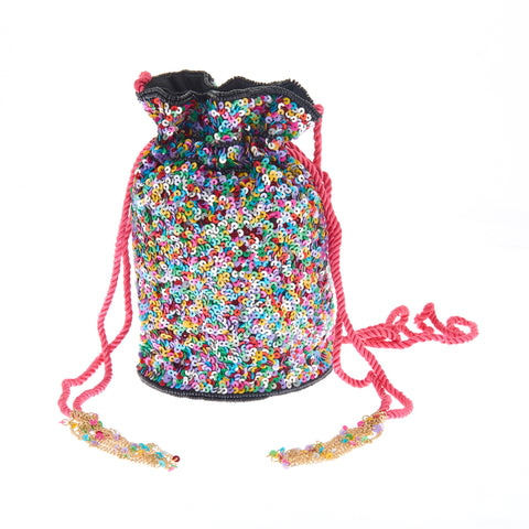 Confetti Drawstring Rainbow-From St Xavier