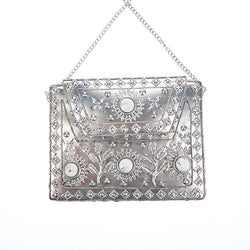 Elmie Bag Silver White-From St Xavier