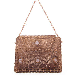 Elmie Bag Rose Gold-From St Xavier