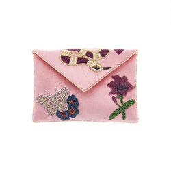 Gabby Palepink Clutch-From St Xavier