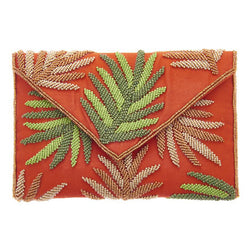 Hamilton Clutch Orange-From St Xavier
