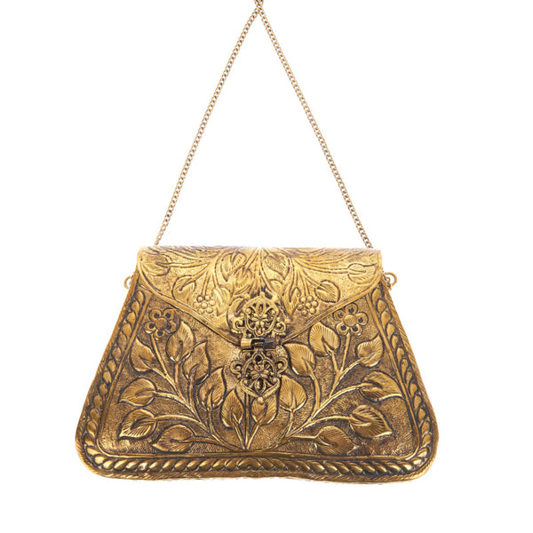 Harriet Bag Gold-From St Xavier