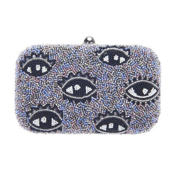 ICU Box Clutch Purple-From St Xavier