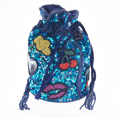 Icons Drawstring Bag Multi Colour-From St Xavier