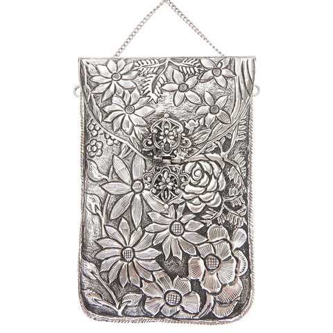 Jasmine Bag Silver-From St Xavier