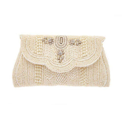 Jocelyn Clutch Ivory-From St Xavier