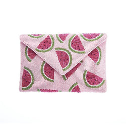 Juicy Pouch Clutch Pink-From St Xavier