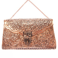 Kalinda Bag Rose Gold-From St Xavier