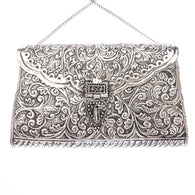 Kalinda Bag Silver-From St Xavier