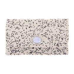 Lavinia Clutch Ivory-From St Xavier