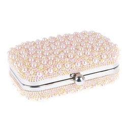 Marcela Box Clutch Pale Pink-From St Xavier