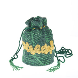 Paradise Drawstring Green-From St Xavier